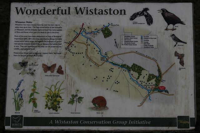 1 of the information plaques.